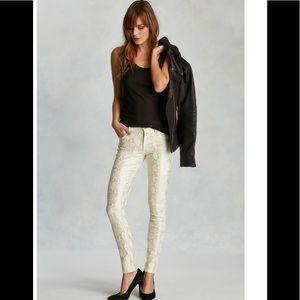True religion Halle super skinny python jeans 25